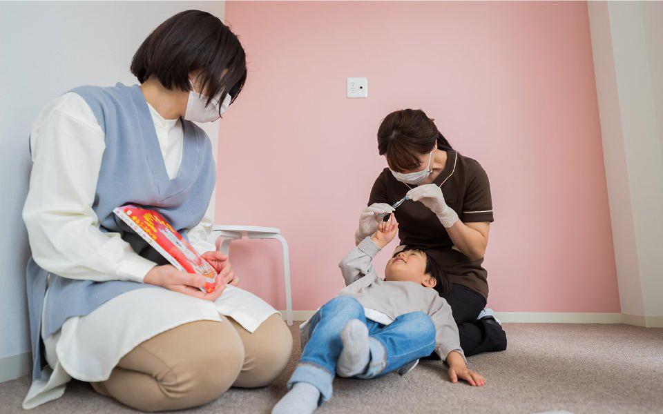 子どもの歯に関するお悩み相談を受けています